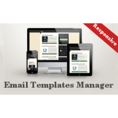 Email manager for OpenCart